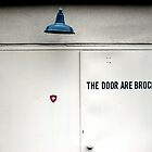 The Door Are Brocked by Benjamin Kaufman