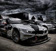 BMW Z4 GT3 Race Car by BreakerSteve