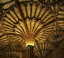 Entrance to Christ Church dining Hall, Oxford by Guy Carpenter