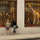 Giraffe shopping by markmccall