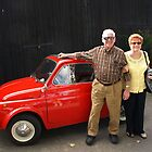 Dad, Mom & The STEYR-PUCH 500 by Lee d'Entremont