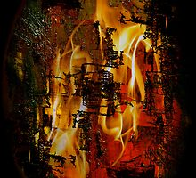 Burning Anger by Jak Savage (aka Unbeknown)