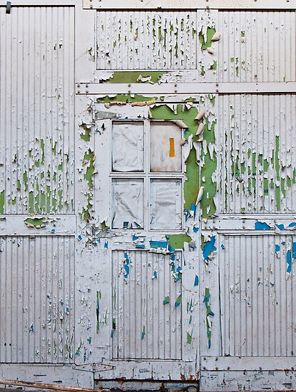 Flakey Door by Nathan Schmidt