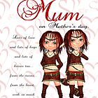 Mother's day Card From The Twins by Moonlake