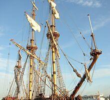 """Tall ship """"frigate Shtandart"""" by steppeland"""