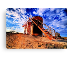 Oil Storage Tanks - Saint Jo , Texas Canvas Print