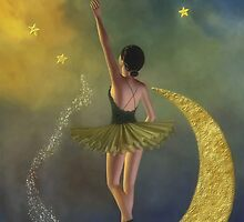 Reaching for the Stars * Ballerina * Fantasy * Wall Art by AnaCBStudio