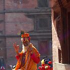 Sadhu, holy man - Durbar Square Nepal by Breanna Stewart