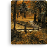 Copper Field Canvas Print