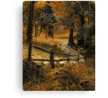 Copper Field Canvas Print