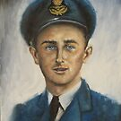 FLIGHT SERGEANT DONALD du BOULAY by Wayne Dowsent