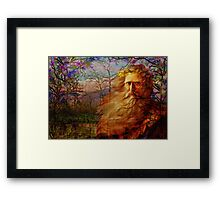 Father Time Blessings Framed Print