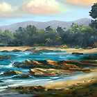 Rocky Beach by twhiteart