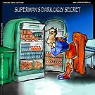 Superman's Dark Ugly Secret by Rick  London