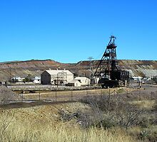 Campbell Mine Header - Bisbee Arizona by Ann Warrenton