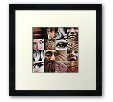 beyond the count series: 1 of 5 Framed Print