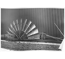 Windmill Vane Poster
