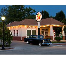 """""""The Filling Station"""" Photographic Print"""