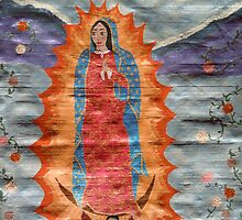 Our Lady of Guadalupe (Papyrus Version) by DebiCady
