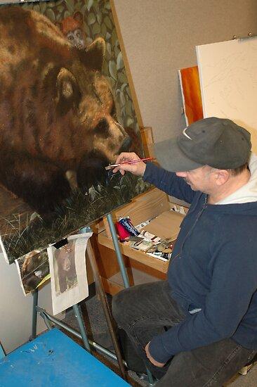 Black Bear by cdcantrell