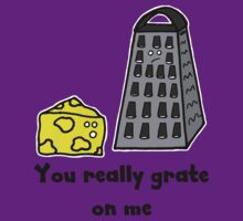 Retro-Style Fun Tees; The Cheese and The Grater by Dead as a Dodo Limited
