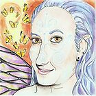 Stephanie summons the butterflies by Sally O&#x27;Dell