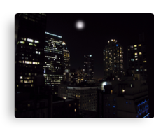 Gotham City Canvas Print