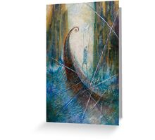 EUPHEMUS AND THE SYMPLEGADES Greeting Card