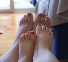 I want painted toes like my big cousin Emma by bberkley