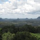 Glasshouse Mountains by John Vriesekolk