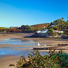 Machroes beach and Bwlchtocyn Panoramic by Turtle  Photography
