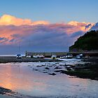 Abersoch Harbour and Jetty sunset by Turtle  Photography