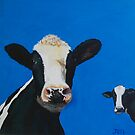 Devon cows by Jenny Urquhart