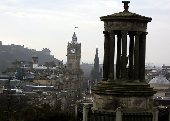 Calton Hill by biddumy