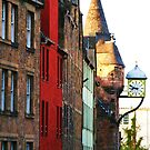 Canongate, Royal Mile, Edinburgh, Scotland by artwhiz47