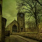 St Michael&#x27;s And All Angels&#x27; Parish Church, Haworth by Sandra Cockayne
