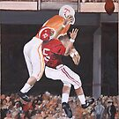 Tennessee vs Alabama 1967 by Dawn  Hawkins