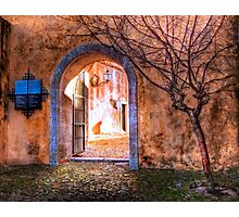Castle archway Photographic Print