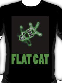 flat cat t T-Shirt