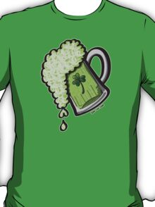 Saint Patrick's Day Glass of Beer T-Shirt