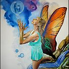 Magical Fairy performing a spell by thermosoflask