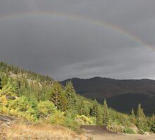 Blue Lakes Rainbow by tscp