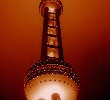 Oriental Pearl, Shanghai, China by Chris Millar