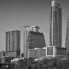 Austin Skyline Wide and East by Roschetzky