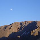 Moon at Pike's Peak by ka7bzg
