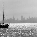 View from Sausalito by Kent Nickell
