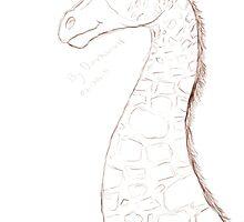 giraffe commission by darkwolf282