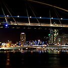 Distant view Brisbane by Saltan