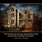 Haunted Memories  by Trudy Wilkerson