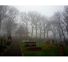 Alderney's Graveyard in the Fog Photographic Print